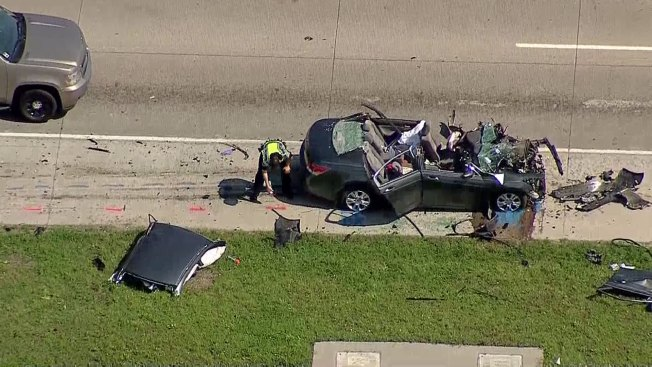 Major Crash Slows Traffic on U.S. 380 in Prosper