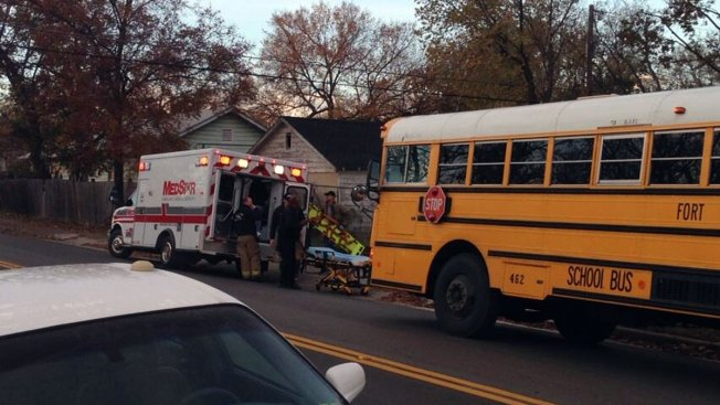 SUV Driver Collides With Fort Worth School Bus