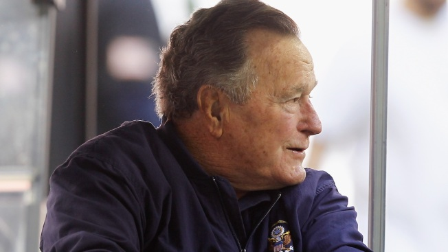 George H.W. Bush Released From Hospital, Resting at Home