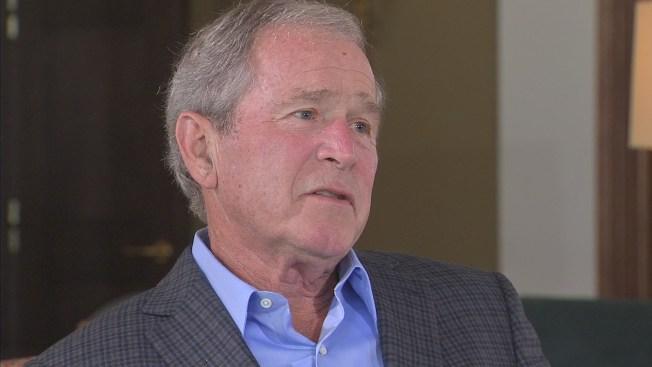 George W Bush Receiving Award From Lincoln Foundation Nbc 5