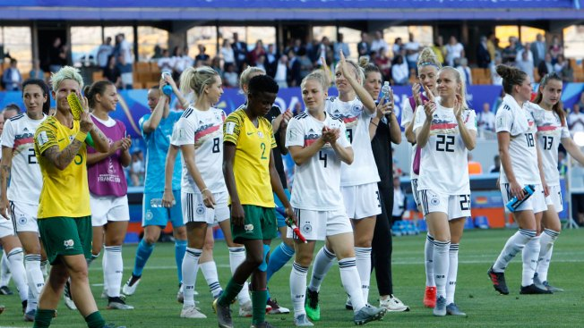 Women's World Cup: Germany Beats South Africa 4-0 to Win Group