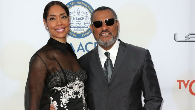 Gina Torres Photographed Kissing Mystery Man and Confirms Split From Laurence Fishburne