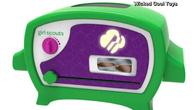 Toy Company Unveils Girl Scout Cookie Oven