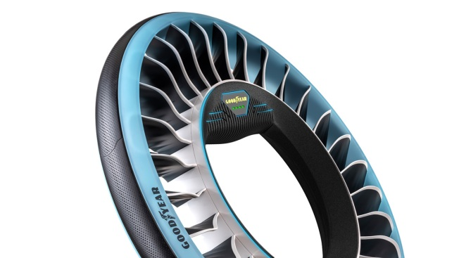 Goodyear Unveils Flying Car Tire Concept That Works on the Ground and in the Air