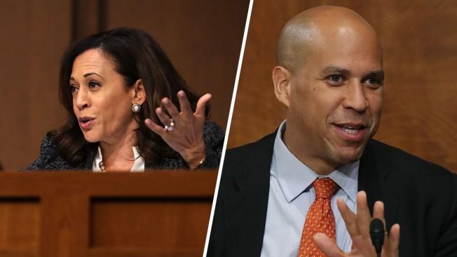 Democrats Booker, Harris Join Senate Judiciary Committee
