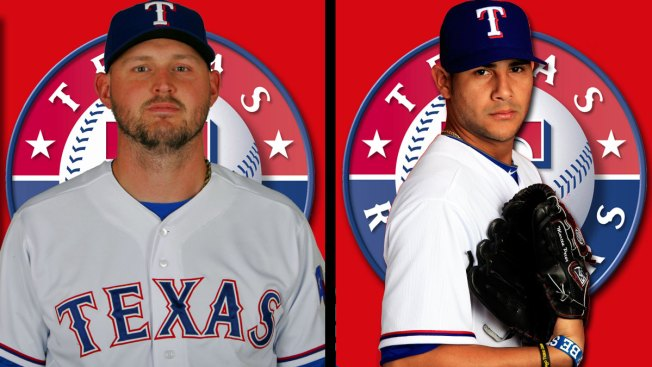 Rangers Lefties Still Progressing in Rehab