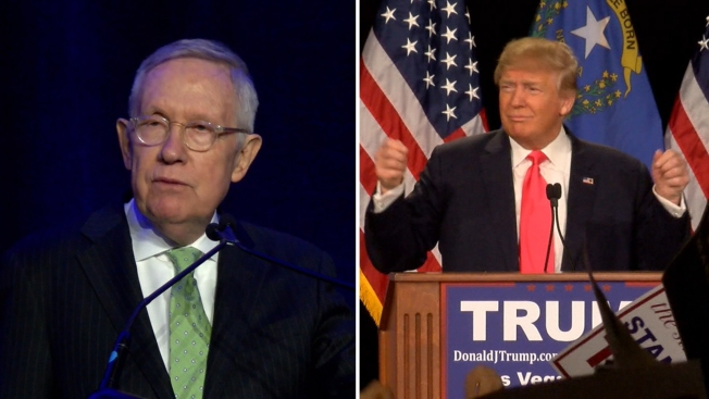 Departing Senate Minority Leader Reid Lashes out at 'Sexual Predator' Trump