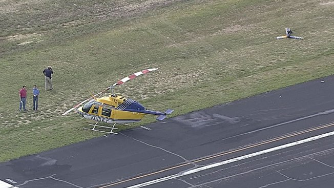 Helicopter Makes Hard Landing in Wise County