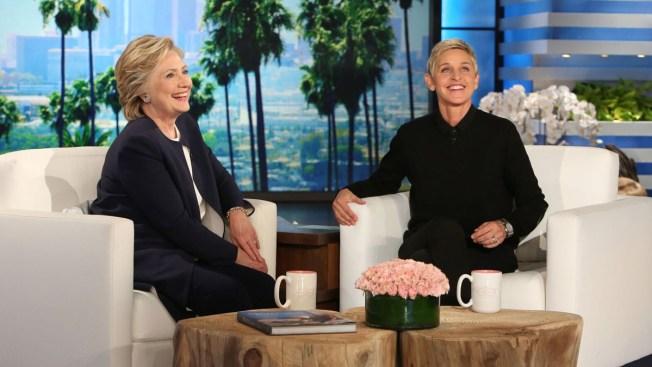 Hillary Clinton Visits Ellen For Her First Interview Since Debate