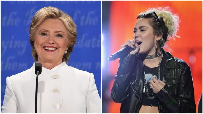 Miley Cyrus To Campaign Door-to-Door for Hillary Clinton in Northern Virginia
