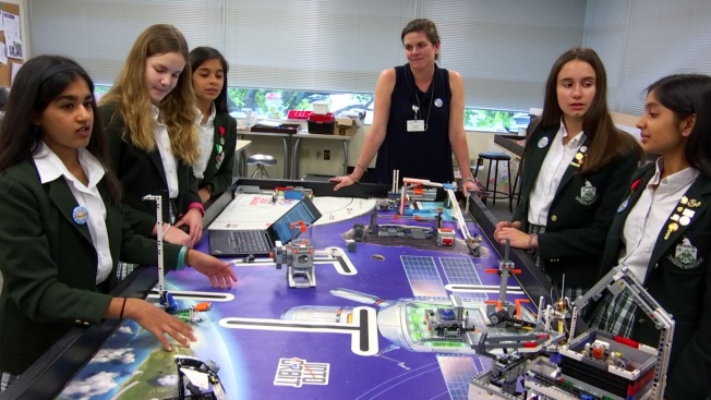 All-Girl Robotics Team From Dallas Competes for World Title