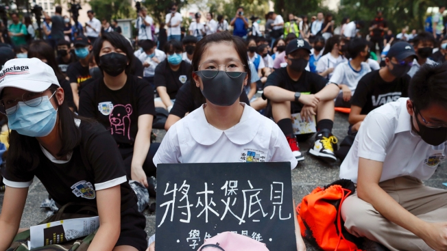 Hong Kong Upholds Ban on National Day March After Violence