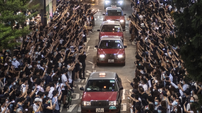 Shot HK Teen Charged With Rioting, Attacking Police