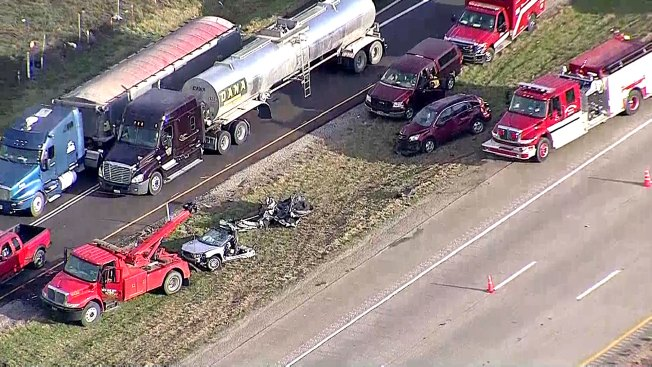 Fatal Crash Reported Along Interstate 45 in Ellis County - NBC 5