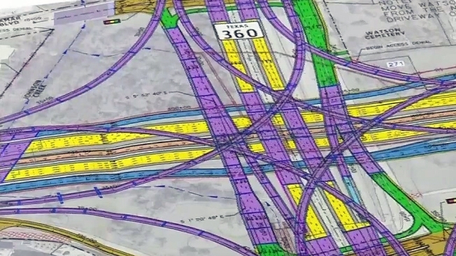 Work Underway for New Arlington Interchange