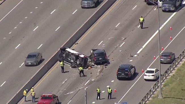 Interstate 35E in Denton Reopens After Fatal Crash