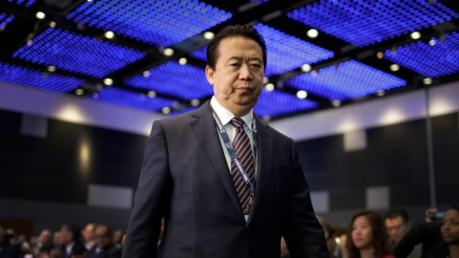 China Accuses Ex-Interpol Chief of Bribery, Other Crimes