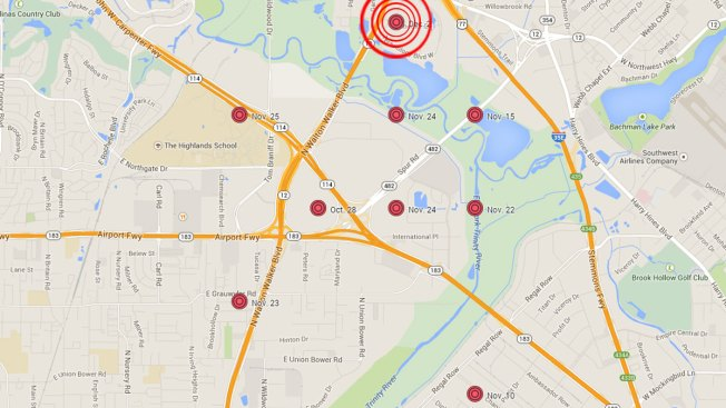 9th Quake Recorded in Irving Since October