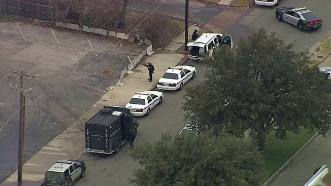Irving SWAT Surrounds Home Near DFW Airport