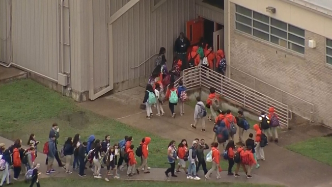 Irving Middle School Evacuated Over Gas Smell