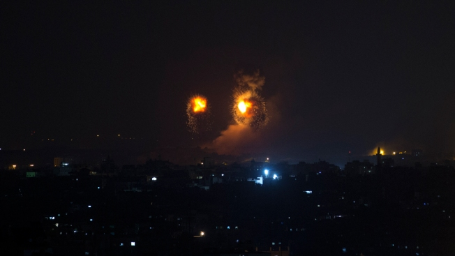 Israel Launches Scores of Airstrikes as Gaza Rocket Fire Persists