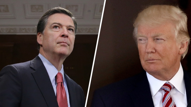Trump suggests he was trying to keep FBI director honest