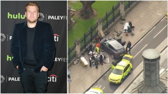 James Corden Felt a 'Long Way From Home' Amid London Attack