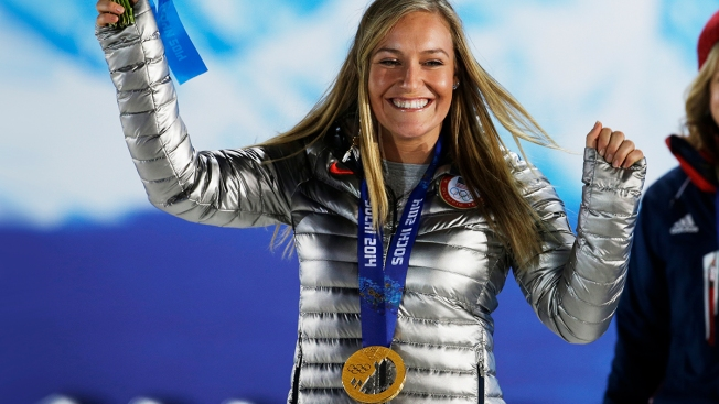"""Jamie Anderson on Matchmaking in Sochi: """"There Are Some Cuties"""" on Tinder"""