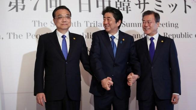 Leaders of Japan, China, S. Korea Agree to Cooperate on N. Korea