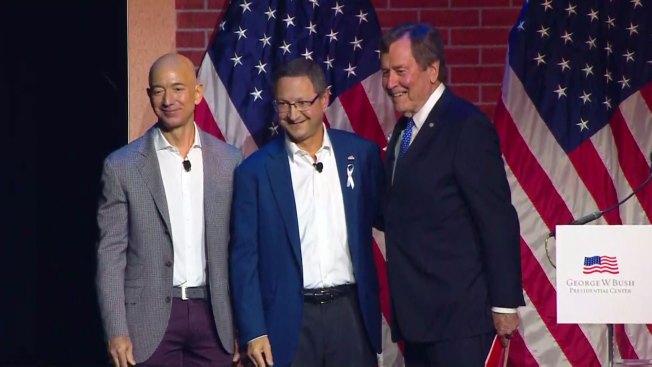 Amazon S Jeff Bezos Closes Bush Center S Forum On Leadership Friday
