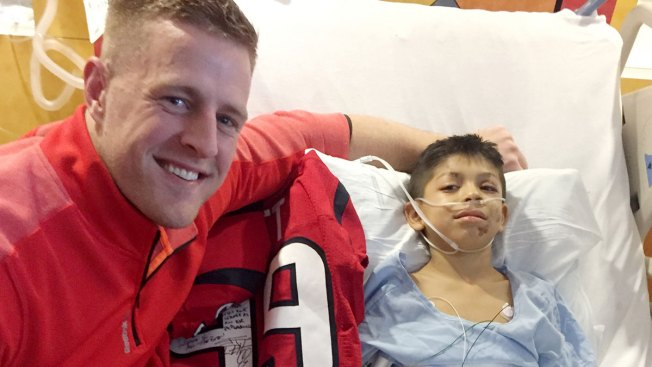 J.J. Watt Surprises Football Fan Who Lost Jersey After Accident