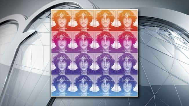 John Lennon Honored With U.S. Postal Service Music Icons Stamp