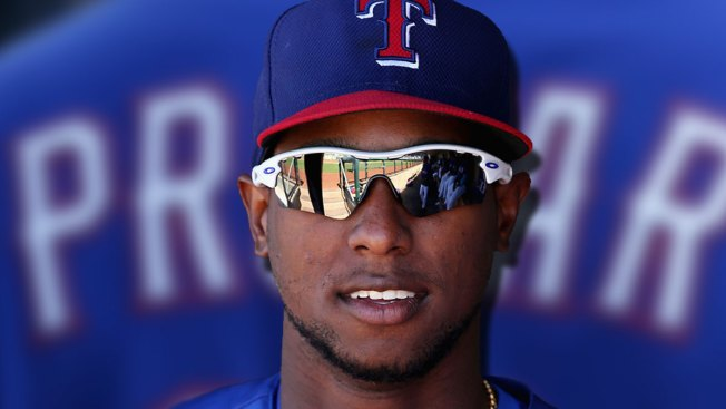 Profar Makes Camp Visit