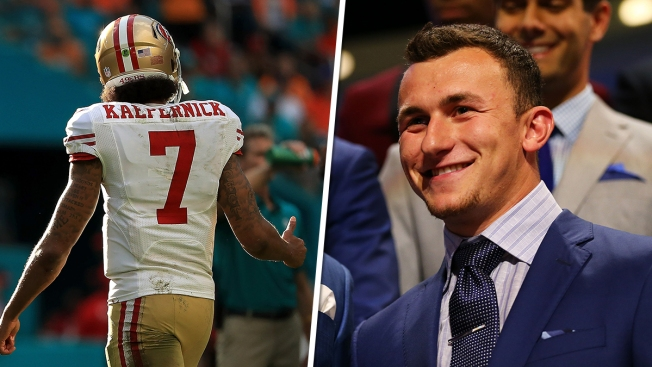 Colin Kaepernick 'Good Enough' to Be on NFL Roster: Johnny Manziel