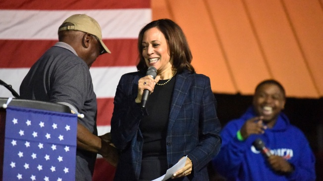 Harris Speaks at Criminal Justice Candidate Forum After Organizers Nixed