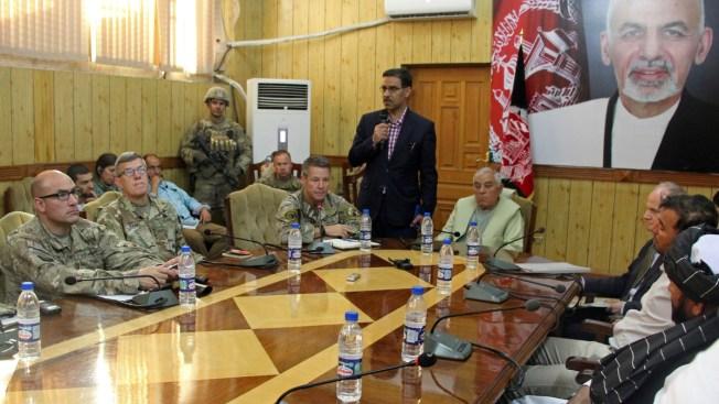 US General Shot in Last Week's Taliban Attack