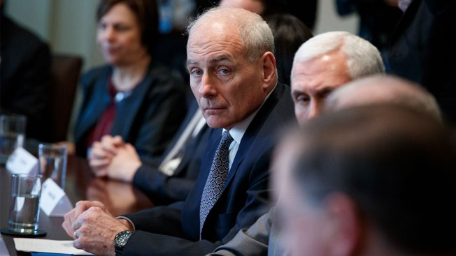 Ex-Trump Aide John Kelly on Board of Company That Detains Migrant Kids