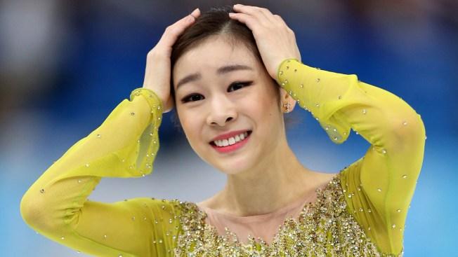 South Korea's Yuna Kim Holds Figure Skating Lead After Short Program