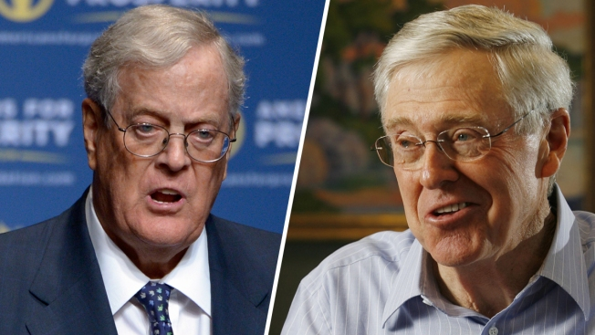 Trump Calls Top GOP Donors the Koch Brothers 'a Total Joke in Real Republican Circles'