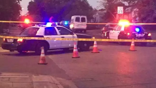 Four Shot by Man Dressed as Santa at Austin Halloween Party