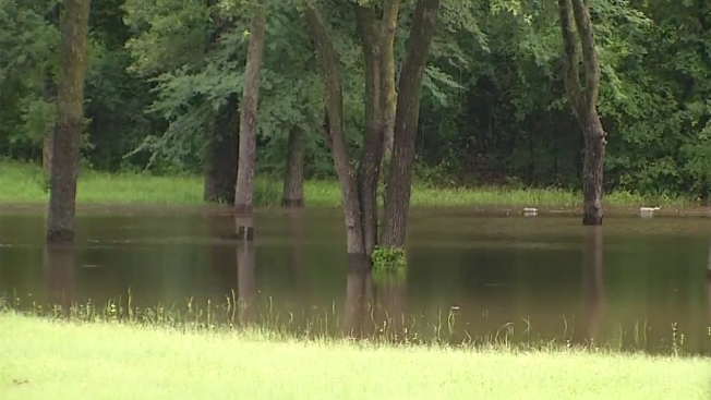 Many Lake Lewisville Parks, Ramps Closed for High Water
