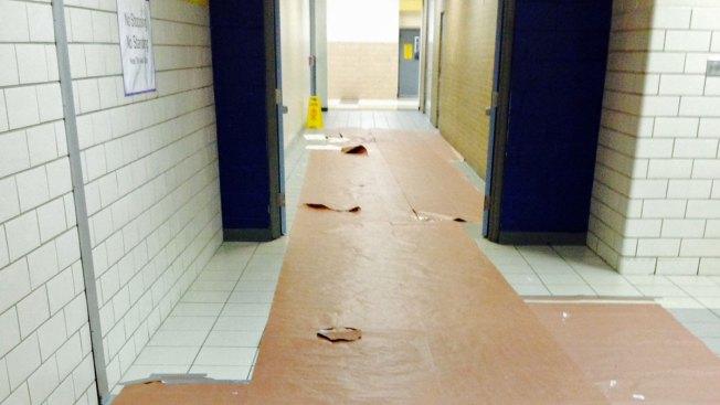 Arlington's Lamar High School Vandalized Overnight