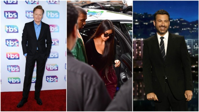 Kimmel, O'Brien Joke About Kim Kardashian's Robbery as James Corden Comes to Her Defense Again