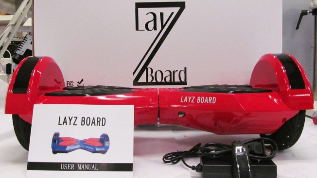 CPSC: Stop Using LayZ Board Hoverboards - NBC 5 Dallas-Fort