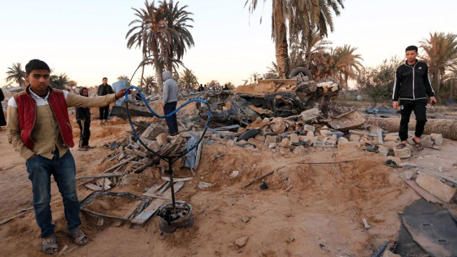 US Jets Target ISIS Camp in Libya; Dozens Killed