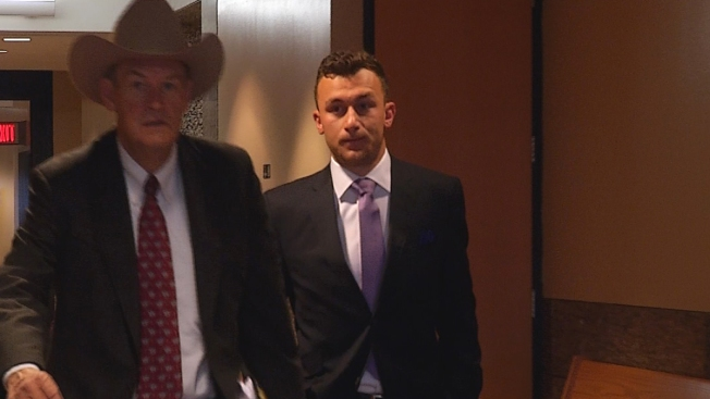 Image result for Johnny Manziel Court