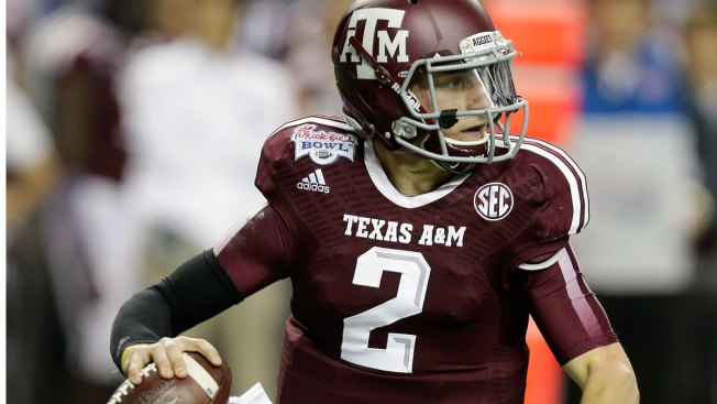Manziel's College Jersey Up for Auction