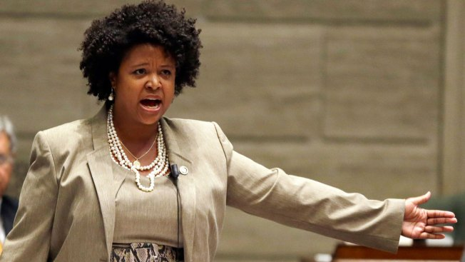 Maria Chappelle-Nadal, censured Missouri state senator, compares Trump to Hitler