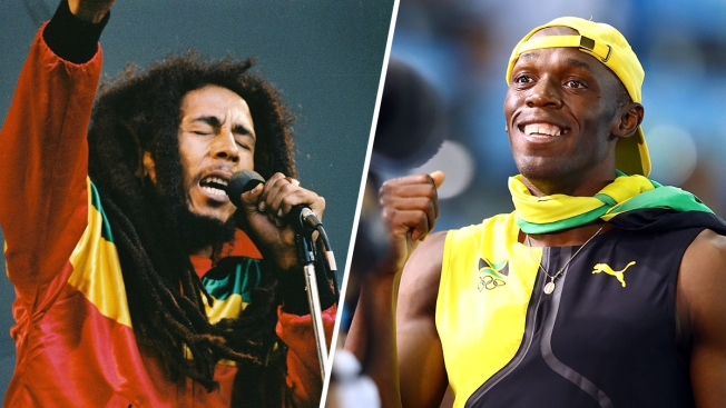 Who's Bigger: Usain Bolt or Bob Marley? Bob Costas Weighs In
