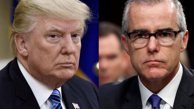 Image result for photos of trump andrew mccabe